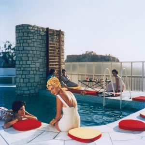 Slim Aarons Penthouse Pool