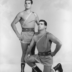 Luchadores (Fighters series) circa 1960s