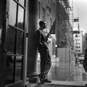 Cary in the Rain, 1957