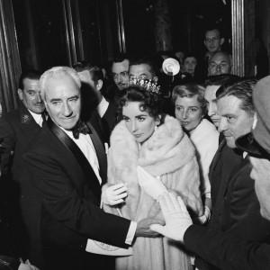Liz in Furs, 1957
