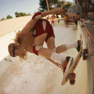 Stacy Peralta Ripping at Coldwater Canyon Pool, 1977