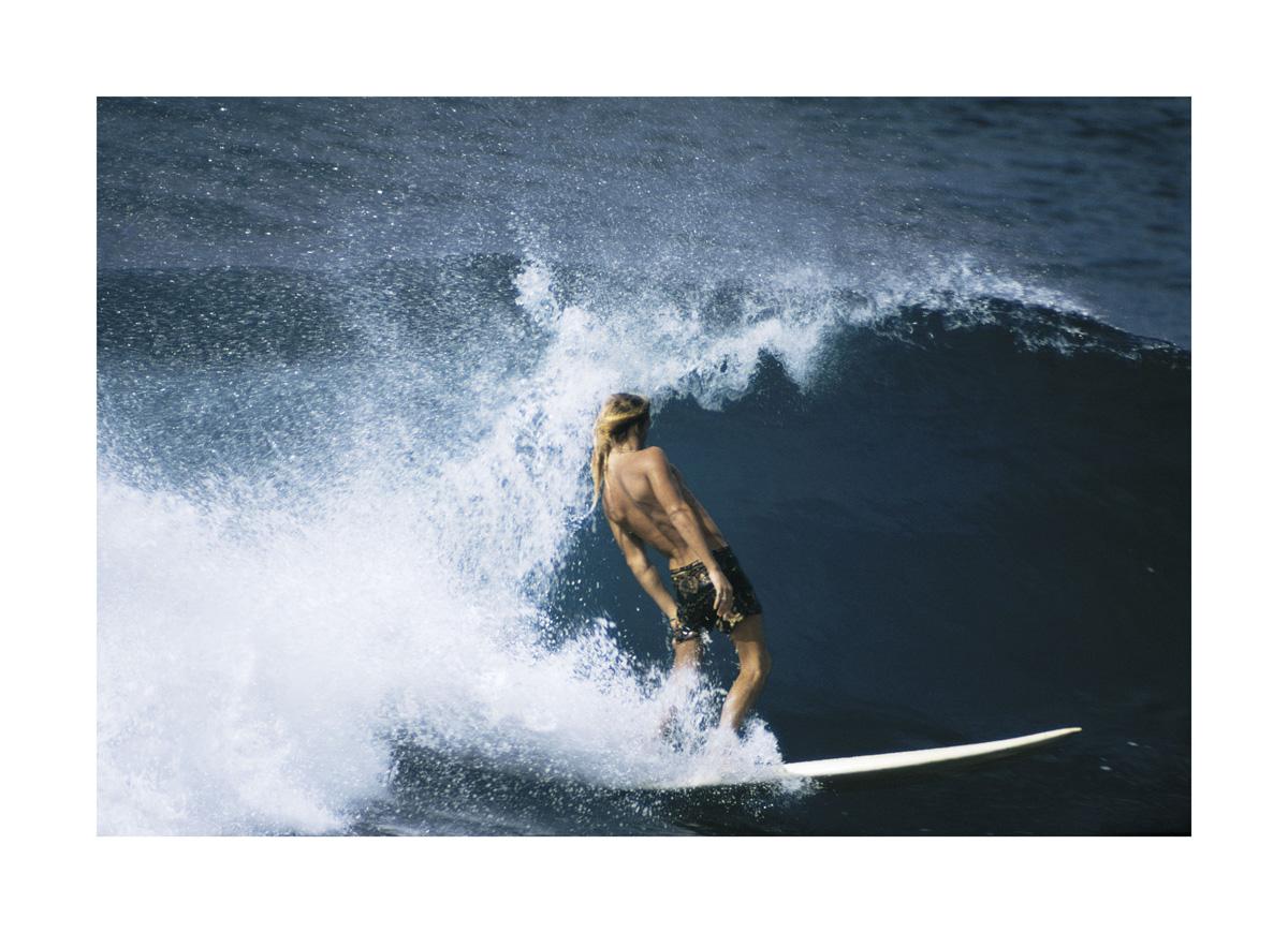 LeRoy Dennis, Rocky Point, Oahu, 1971