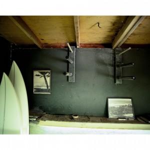 Matt Moore's Shaping Room, Carpenteria, California, 1979