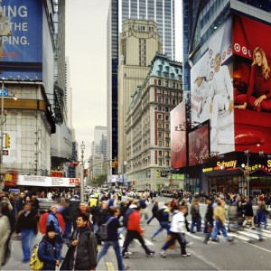 42nd St, Times Sq, Manhattan, 2005