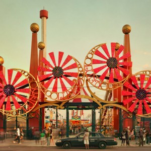 Luna Park (Coney Island series), 2010