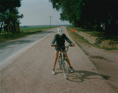 Child with Mask, Hillrose, Colorado, 1989