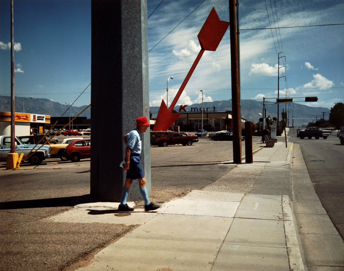 Man and Arrow Albuquerque, New Mexico, 1986