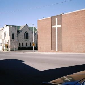 School with White Cross