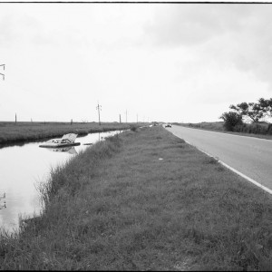 Car in Levee
