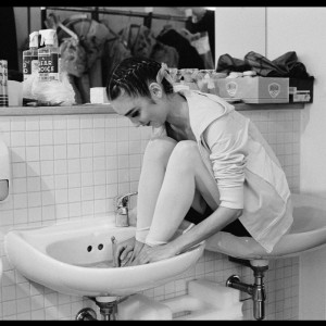 Ballerina in Sink, 2004