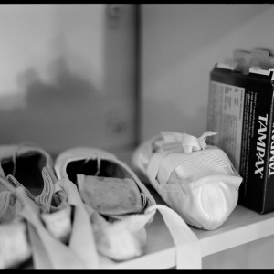 Pointe Shoes and Tampax, 2004