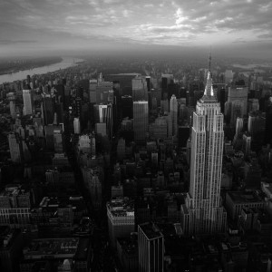 N.Y, From Helicopter