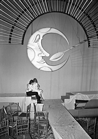 Studio 54 Moon and Spoon, 1978