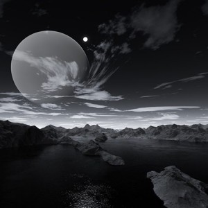 Beyond Imagination 1 from the series 'Extrasolar Landscapes' by Zev Rogan