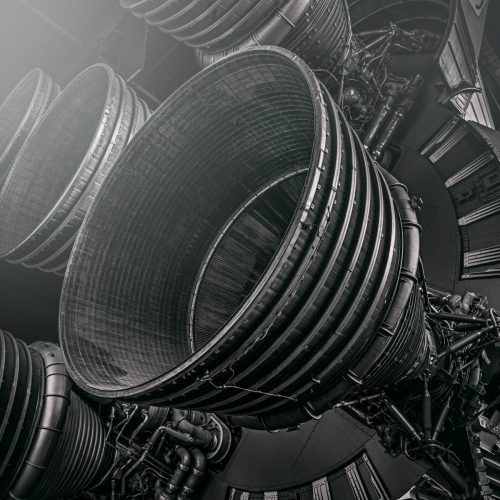 Saturn V #1 by Morgan Silk