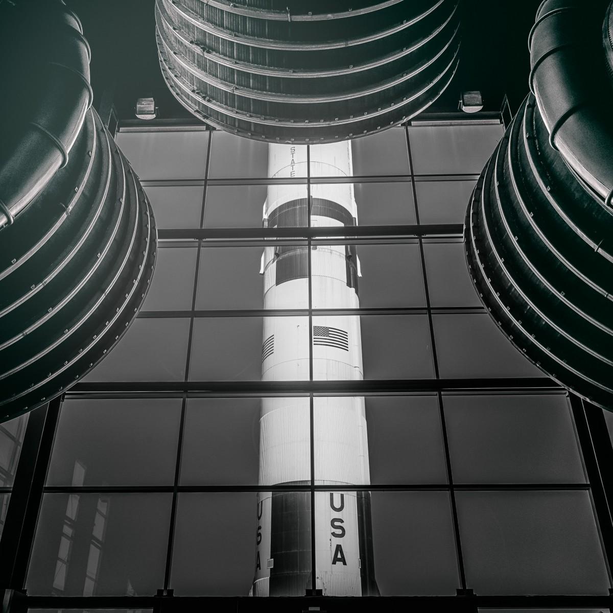 Saturn V #3 by Morgan Silk