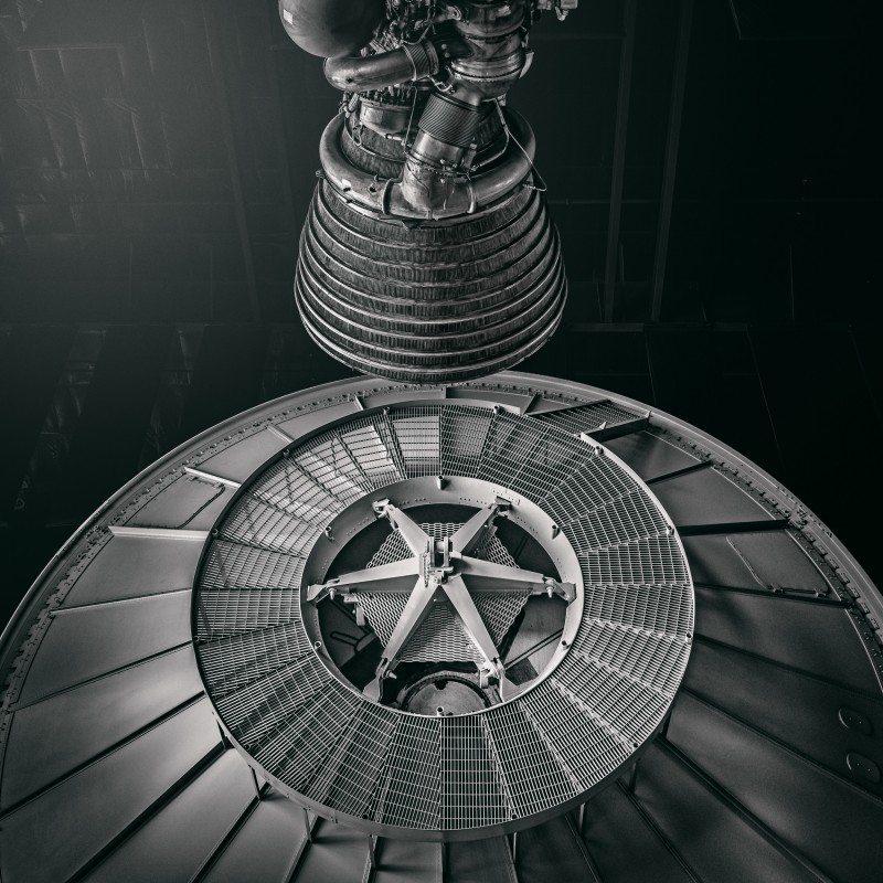 Saturn V #7 by Morgan Silk