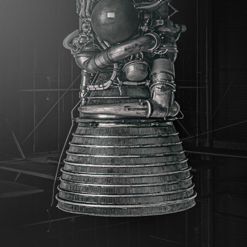 Saturn V #8 by Morgan Silk