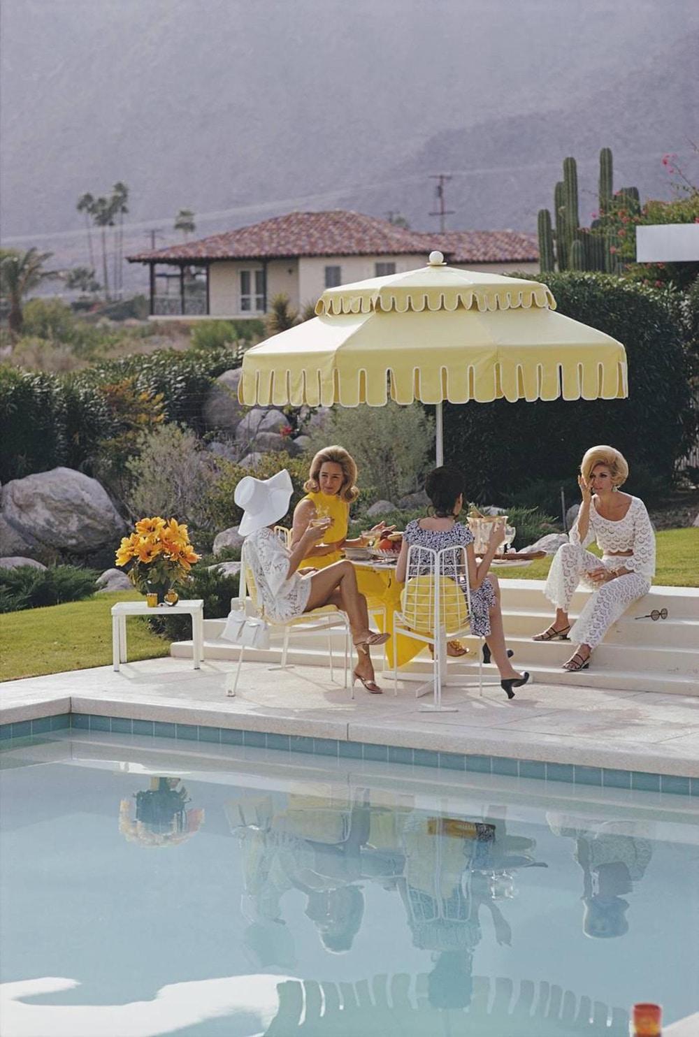 Slim_Aarons_Nelda-and-Friends_Palm Springs