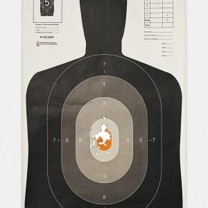 Target B, 2016, from the series L.A. Gun Club