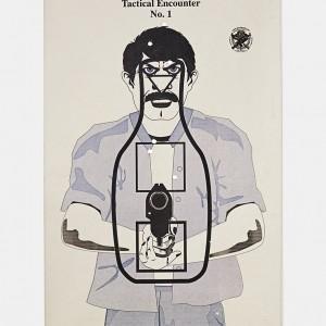 Target C, 2016, from the series L.A. Gun Club