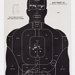 Target F, 2016, from the series L.A. Gun Club