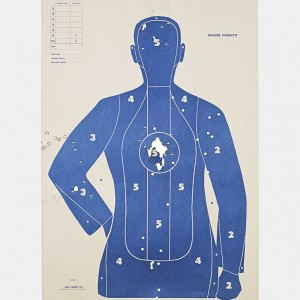 Target I, 2016, from the series L.A. Gun Club
