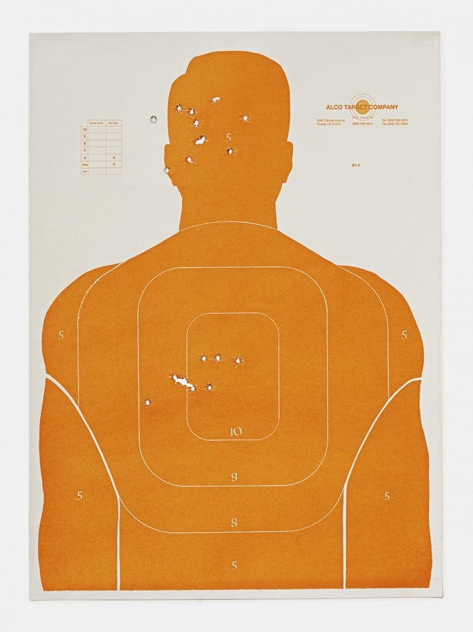 Target K, 2016, from the series L.A. Gun Club