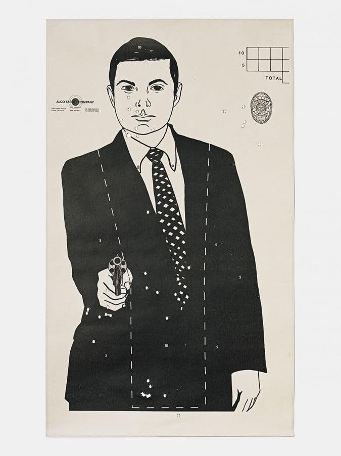 Target M, 2016, from the series L.A. Gun Club