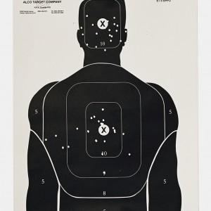 Target N, 2016, from the series L.A. Gun Club