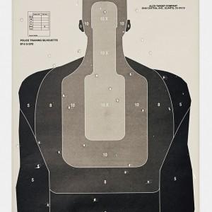 Target P, 2016, from the series L.A. Gun Club