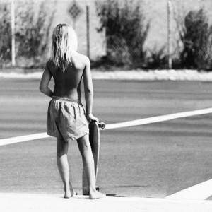 Skater Crossing, CA, 1975