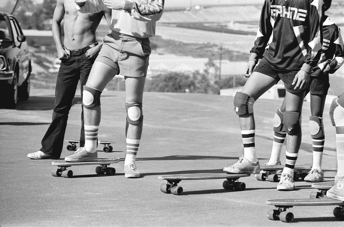 Night Pier Rider, Huntington Beach, CA, 1975
