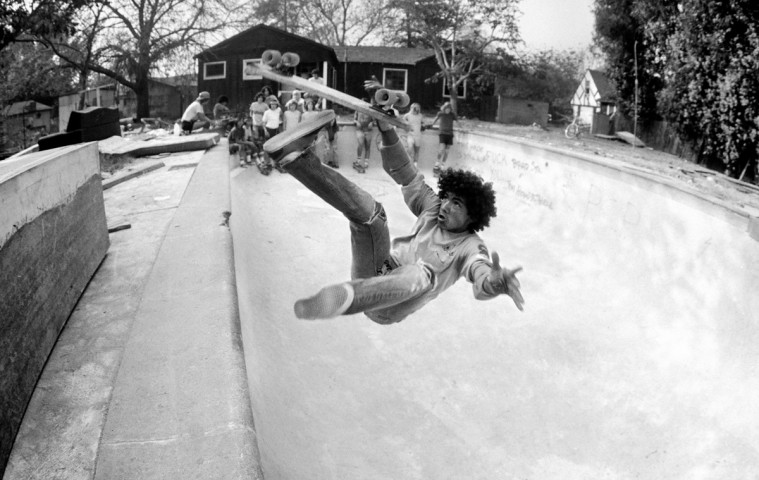 Backyard Pool Bail, San Francisco Bay Area, 1977