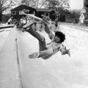 Backyard Pool Bail, San Francisco Bay Area, 1977
