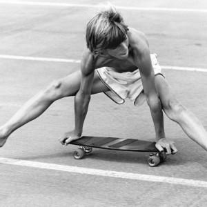 The Gymnast Handstand, Del Mar, San Diego County, 1975