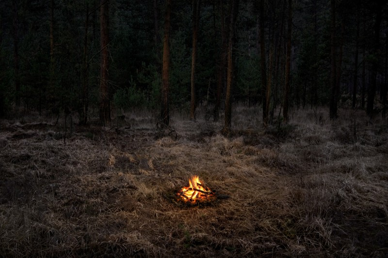 Fires 1, 2018 by Ellie Davies